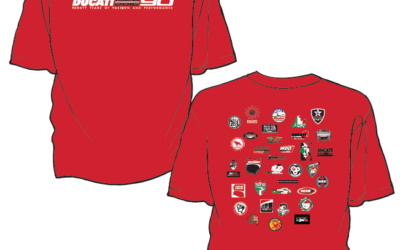 Ducati 90th Anniversary DOC Collaboration T-Shirt