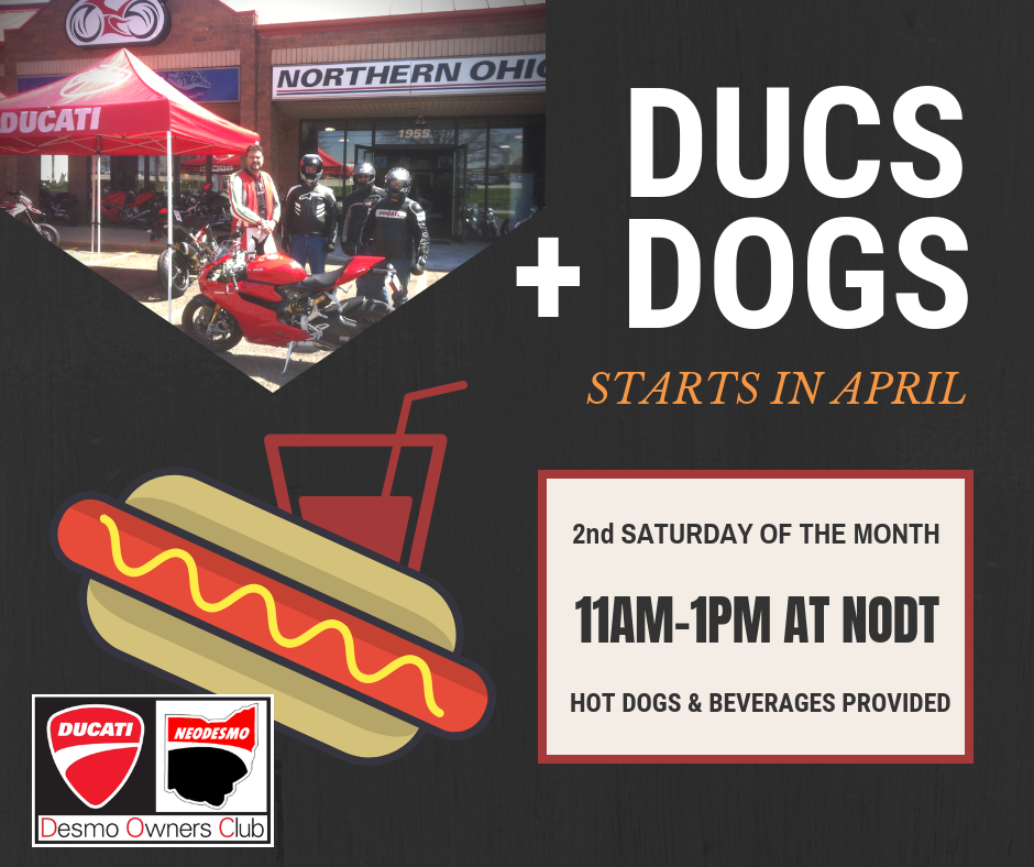 NEODESMO Northeast Ohio Ducati Owners Club Ducs and Dogs Event